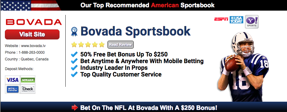 enjoy betting on football at bovada sportsbook